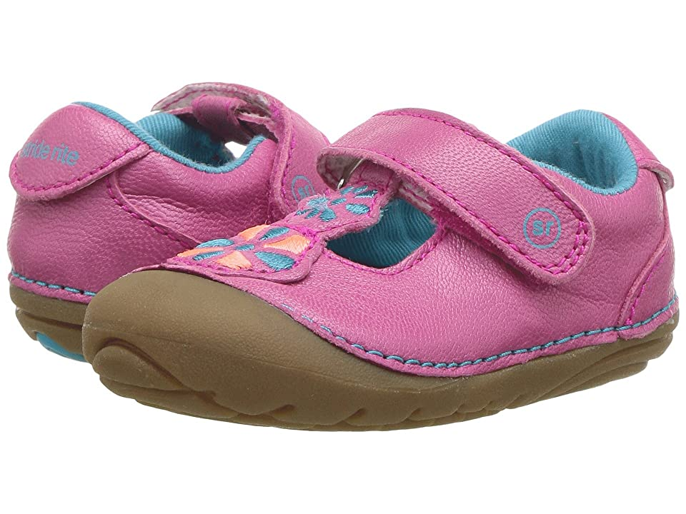 Stride Rite Soft Motion Kelly (Infant/Toddler) (Pink Multi) Girl