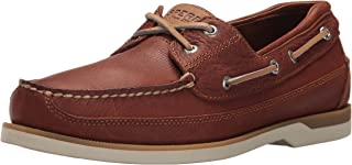 Sperry Top-Sider Mens Mako 2-Eye Canoe Moc Lace-Up