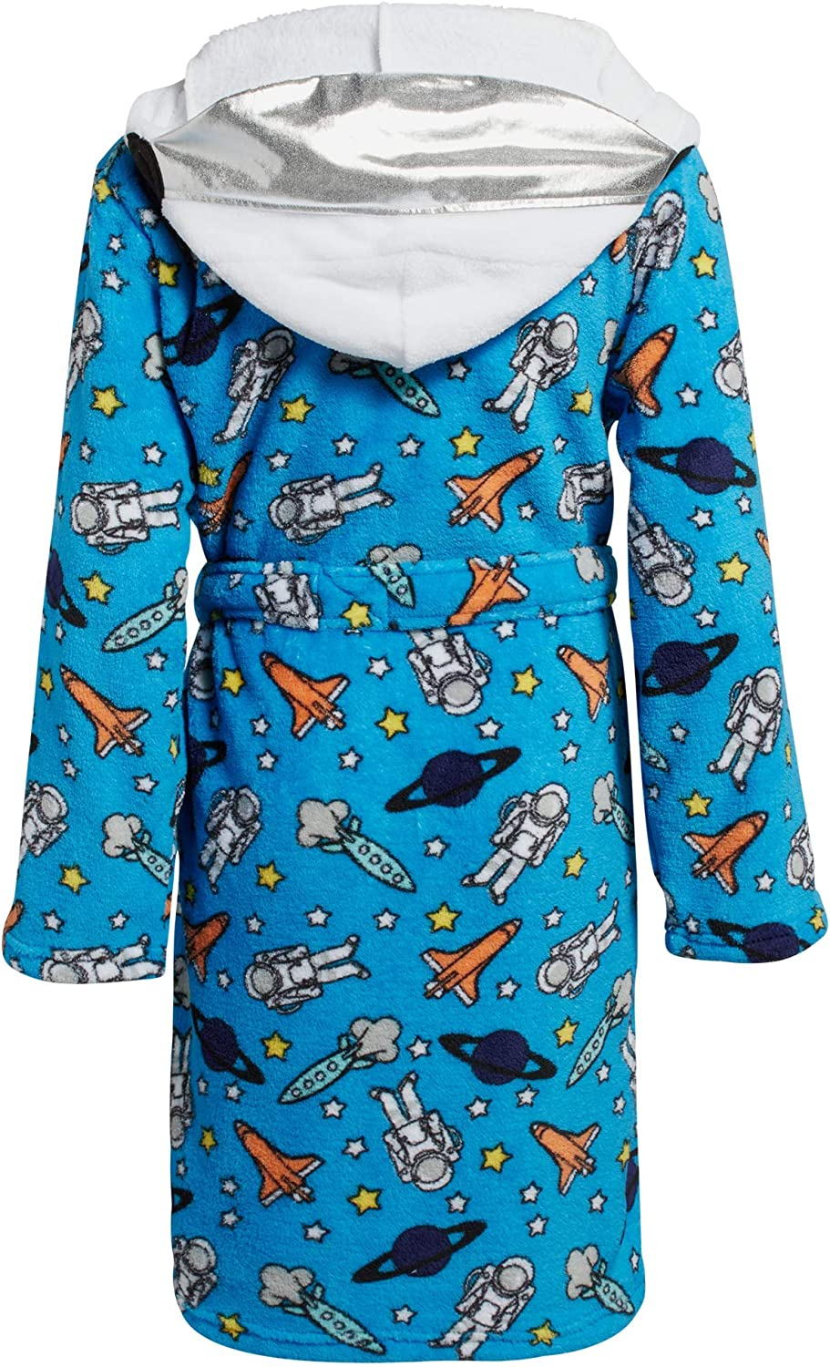 Too Cool 2 Sleep Boys Plush Fleece Belted Robe with Character Hood