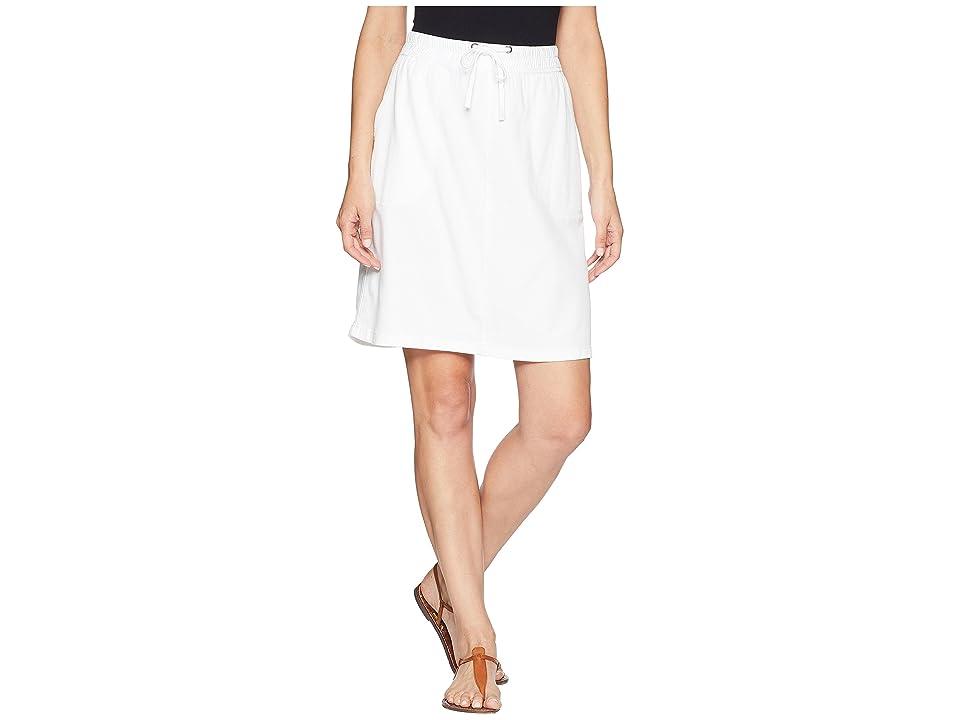 NIC+ZOE Open Road Skirt (Paper White) Women