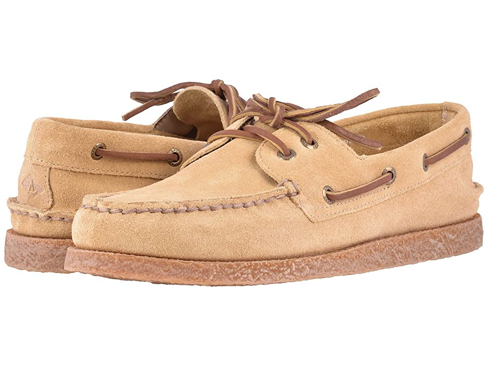 Sperry A/O 2-Eye Suede (Sand) Men