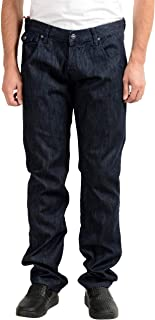 Gianfranco Ferre GF Men's Dark Blue Straight Leg Jeans US 36 IT 52