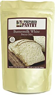 The Prepared Pantry Buttermilk White Bread Mix; Single Pack; For Bread Machine or Oven