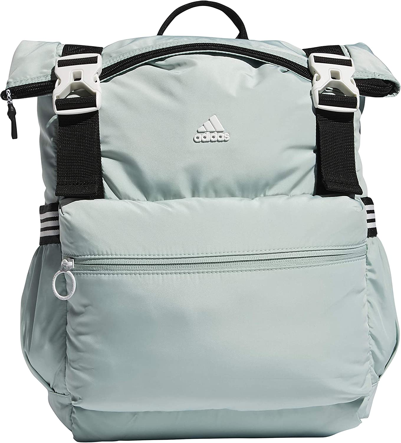 adidas Women's YOLA 2 Backpack Green White SEAL limited product Size Tint Elegant One Black