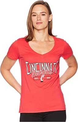 Cincinnati Bearcats University V-Neck Tee