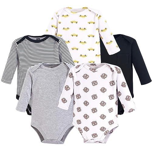 5a057a965846 Hudson Baby 3 pk Long Sleeve Bodysuits