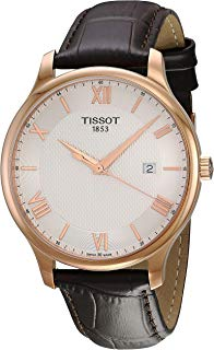 Tissot Men's Tradition - T0636103603800 Mother-of-Pearl/Brown One Size