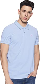 Scotch & Soda Men's Classic Two-Tone Polo in Clean Pique Quality with Pop Logo