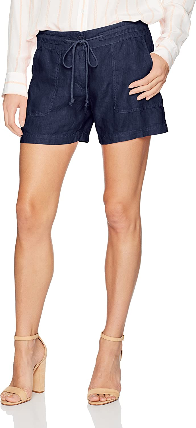 Margaritaville Womens Drawstring Easy Linen Short Casual Shorts