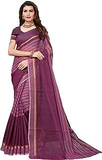 4ff4925b88 Purples Women's Sarees: Buy Purples Women's Sarees online at best ...