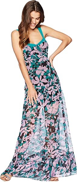 For Love and Lemons Maritza Floral Maxi Dress