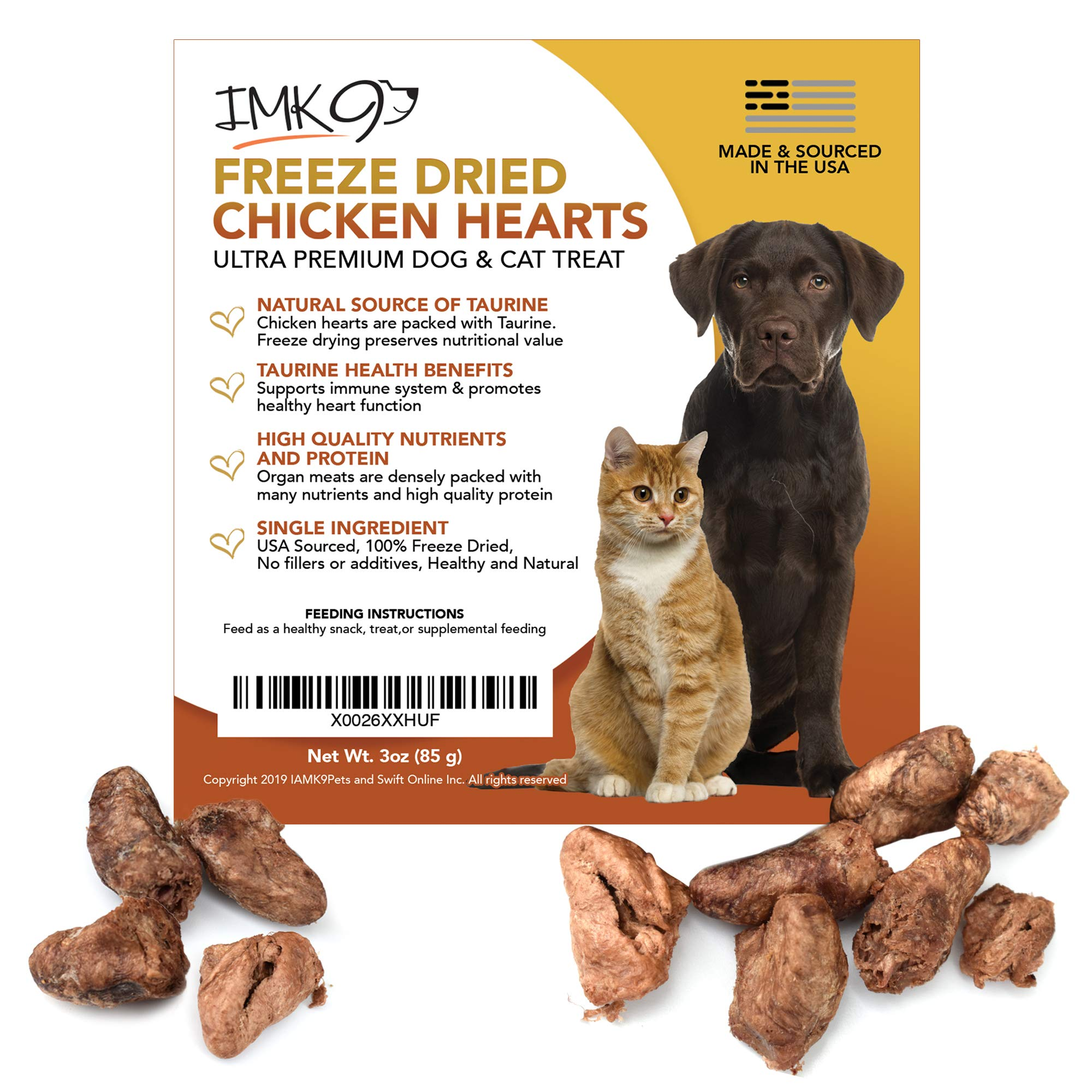 Freeze Dried Chicken Hearts Treat Raw Natural Taurine For Dogs Cats Usda Certified Single Dehydrated Ingredient Buy Online In Aruba At Desertcart