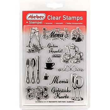 DIY Stamp Stempel Silikon Stempel Pr/ägung Schneiderei Silikon Stempel Pr/ägung Stempel Viva Decor/®️ Clear-Stamps DIY Dekoration stanzen Made in Germany