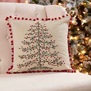 Best embroidered christmas pillows Reviews