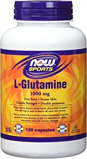 NOW FOODS L Glutamine 1000Mg, 120 CT