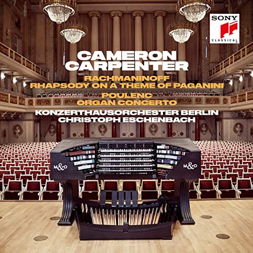 Cameron Carpenter on the International Touring Organ
