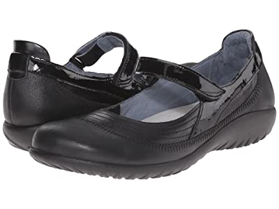 Naot Kirei (Black Leather Combo) Women