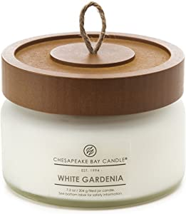 Chesapeake Bay Candle Scented Candle, White Gardenia, Small