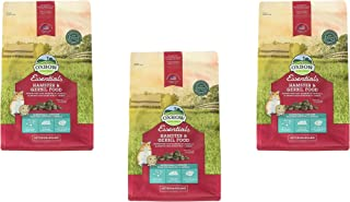 Oxbow Animal Health Hamster and Gerbil Fortified Food,1 lb, 3 pack