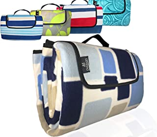 ANJ XXL 3-Layer Waterproof Outdoor Blanket/Picnic Blanket for Picnic, Beach and Camping