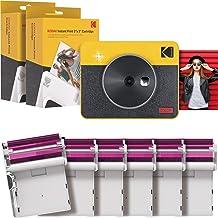 Kodak Mini Shot 3 Retro 2-in-1 Portable Wireless Instant Camera & Photo Printer, Compatible with iOS, Android & Bluetooth,...