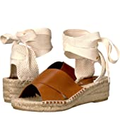 Soludos - Crisscross Demi Wedge