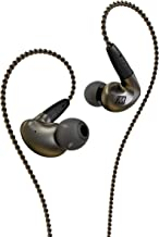MEE audio Pinnacle P1 High Fidelity Audiophile In-Ear Headphones with Detachable Cables - EP-P1-ZN-MEE