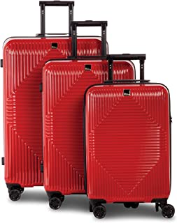 Fabrizio Luggage Set, Red (Rot), 78 centimeters
