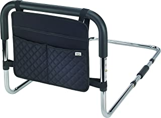Juvo Height Adjustable Bed Safety Rail with Storage Caddy (BSR101)