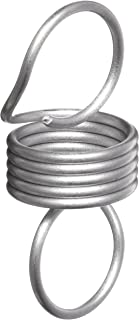 3.67 lbs Load Capacity 302 Stainless Steel Extension Spring 2.33 lbs//in Spring Rate 2.65 Extended Length 0.5 OD Inch Pack of 10 0.037 Wire Size 1.25 Free Length