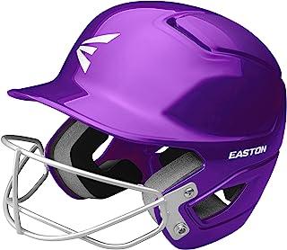 EASTON Alpha Softball Batting Helmet with Mask, 2021, Dual-Density Impact Absorption Foam, High Impact Resistant ABS Shell...