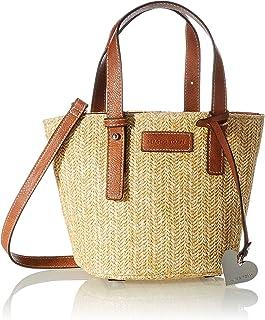 MARCO TOZZI Damen Handtasche 2-2-61009-26, Nature Comb, normal