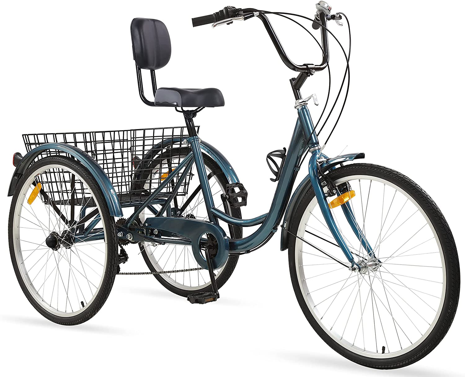 Hangnuo Adult Tricycles Ranking integrated 1st place 7 Speed Tricycle inc Max 45% OFF 26 Trikes 24