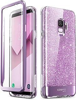 i-Blason Cosmo Full-Body Glitter Sparkle Bumper Protective Case for Galaxy S9 2018 Release Galaxy-S9-Cosmo-SP-Purple