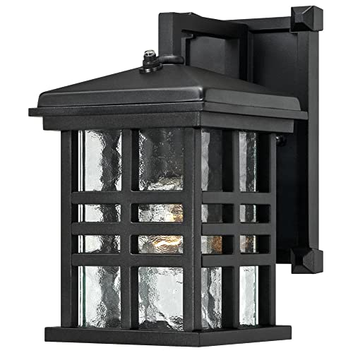 Westinghouse Lighting Westinghouse 6204500 Caliste 1 Light Outdoor Wall Lantern with Dusk to Dawn Sensor,