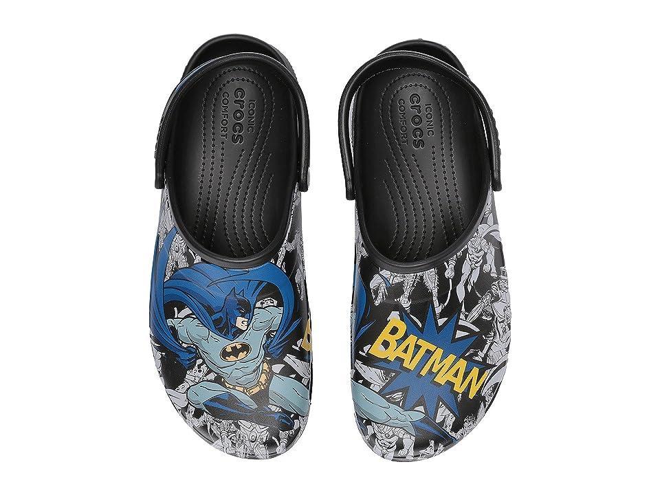 Crocs Classic Batman Clog (Black) Clog/Mule Shoes