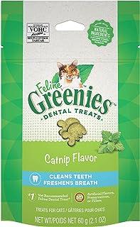 Greenies Feline Dental Cat Treat Catnip Flavour, Adult, 60G Bag, One Size