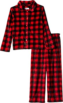 Buffalo Plaid Family Long Sleeve Classic PJ Set (Toddler/Little Kids/Big Kids)