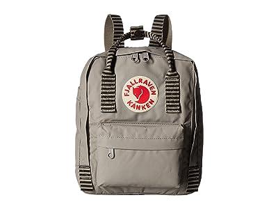 Fjallraven Kanken Mini (Fog/Striped) Backpack Bags