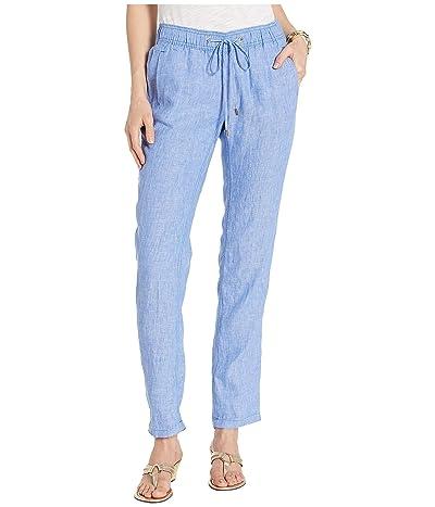 Lilly Pulitzer Aden Linen Pants (Beckon Blue) Women