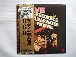 Creedence Clearwater Revival / Live in Europe / Japan Gatefold 2 Lp with Obi, Booklet