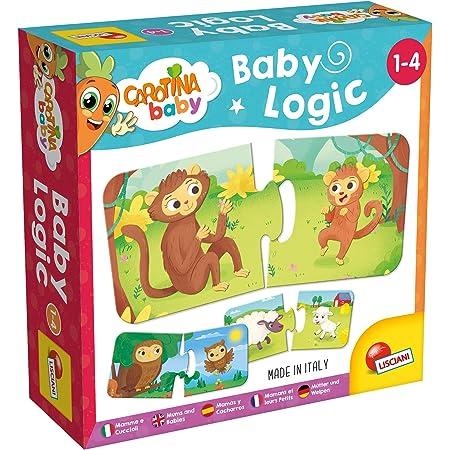 Lisciani - Carotina Baby - Logique Mamans et leurs petits - Jeu éducatif pour enfants à partir de 1 an - 80038