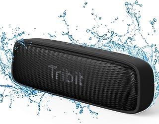 Tribit XSound surf Bluetooth スピーカー IPX7完全防水 12W ポータブルスピーカー ブルートゥーススピーカー 低音強化/内蔵マイク搭載 アウトドア お風呂 iPhone & Android対応 ブラック