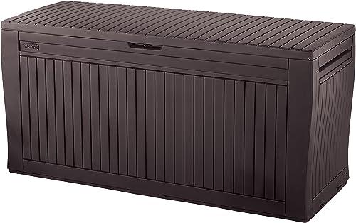 KETER Comfy–Coffre de Rangement extérieur, 270l, de 117x 9x 53cm