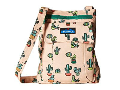 KAVU Keeper (Prickle Perfect) Cross Body Handbags