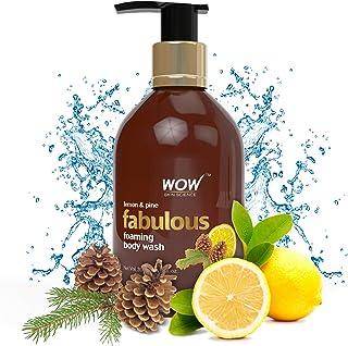 WOW Lemon & Pine No Parabens & Sulphates Shower Gel, 300mL