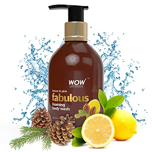 WOW Lemon & Pine No Parabens & Sulphates Shower Gel, 300mL