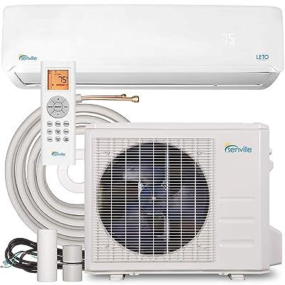 Senville SENL-18CD Mini Split Air Conditioner Heat Pump 18000 BTU 19 SEER