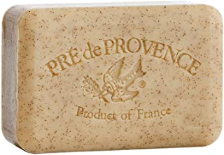 Pre de Provence Artisanal French Soap Bar Enriched with Shea Butter, Quad-Milled For A Smooth & Rich Lather (250 grams) - ...
