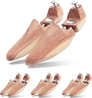 7192e155 Schlesinger 4 Pares de Hormas Para Zapatos de Hombre en Madera de Cedro  perfecto para Viajar